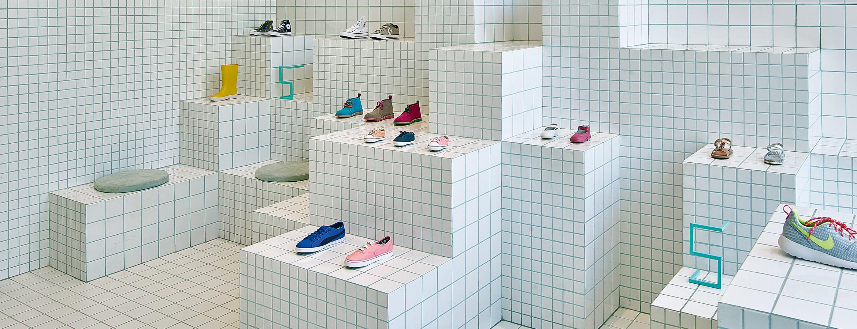 Little Shoes i Barcelona av arkitekterna på Nabito