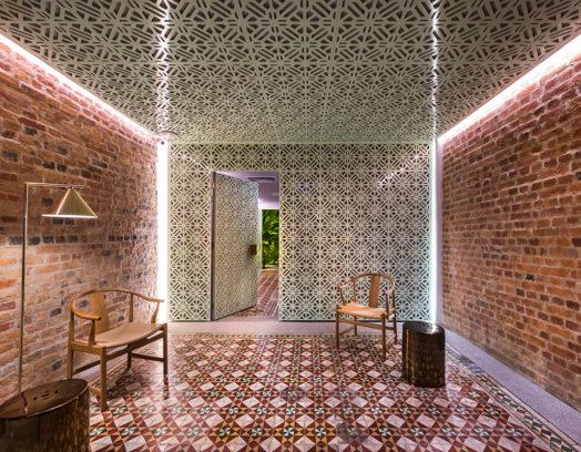 Ministry of Design har skapat fem sviter till hotellet Loke Thye Kee i Malaysia