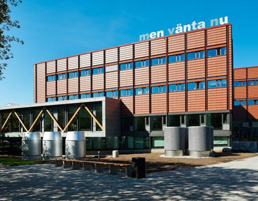 Lux är förra årets vinnare och ritades på uppdrag av Akademiska Hus åt Lunds Universitet
