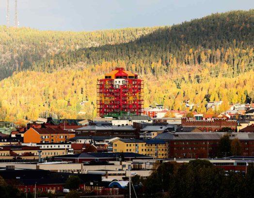 Arkitekterna på Wingårdhs ligger bakom Ting1 i Örnsköldsvik