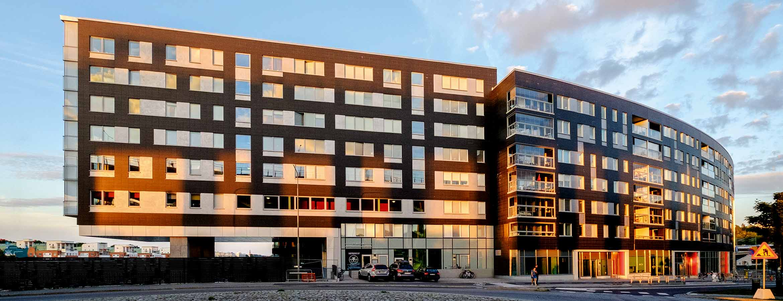 Båghuset i fredriksdal av arkitekterna på ÅWL Arkitekter