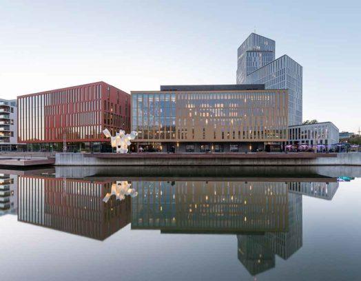 Malmö Live i Malmö ritat av Schmidt Hammer Lassen Architects