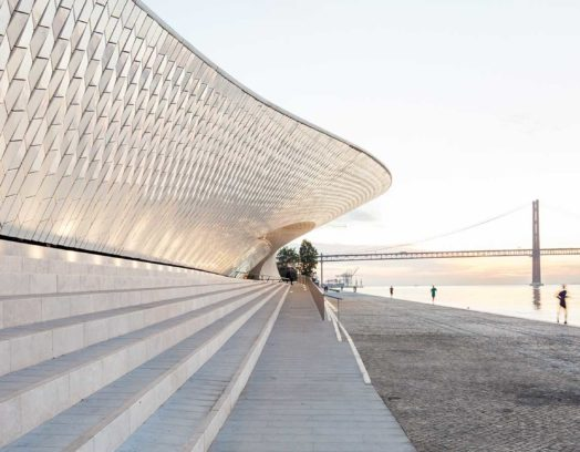 MAAT – Museum of Art, Architecture and Technology i Lissabon. Arkitekter: AL_A