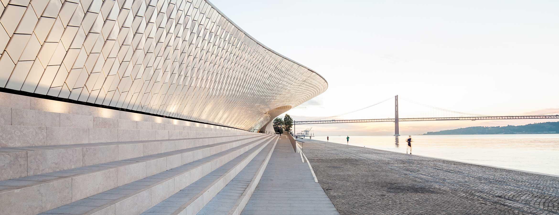 MAAT – Museum of Art, Architecture and Technology i Lissabon. Arkitekter: AL_A