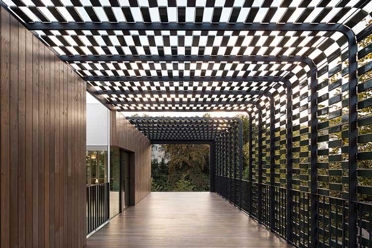 TR-House Barcelona Keramisk fasad