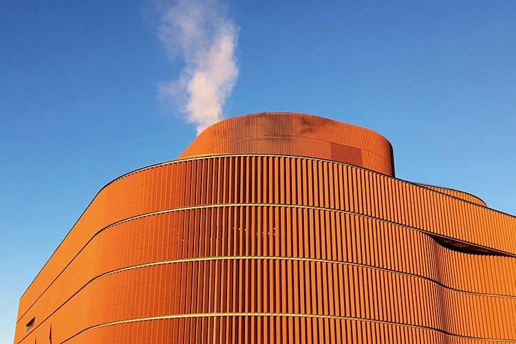 BKR biokraftvärmeverket värtan