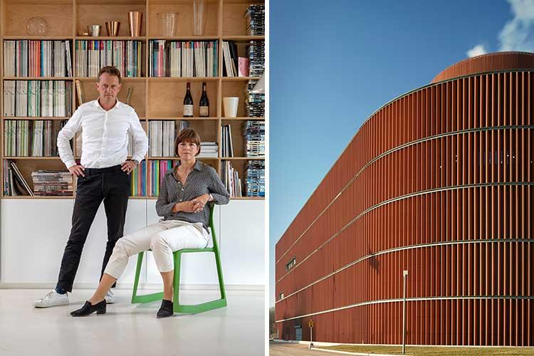 Erik Jarlöv och Helena Glantz på Urban design