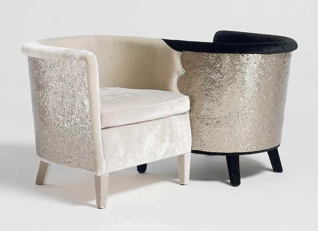 möbler i mosaik