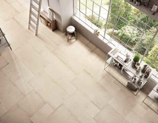 keramiska skivor på golv
