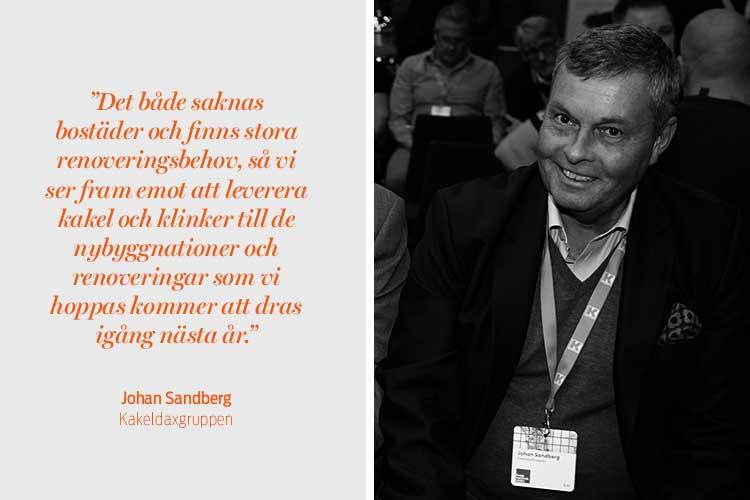 Johan Sandberg, Kakeldaxgruppen