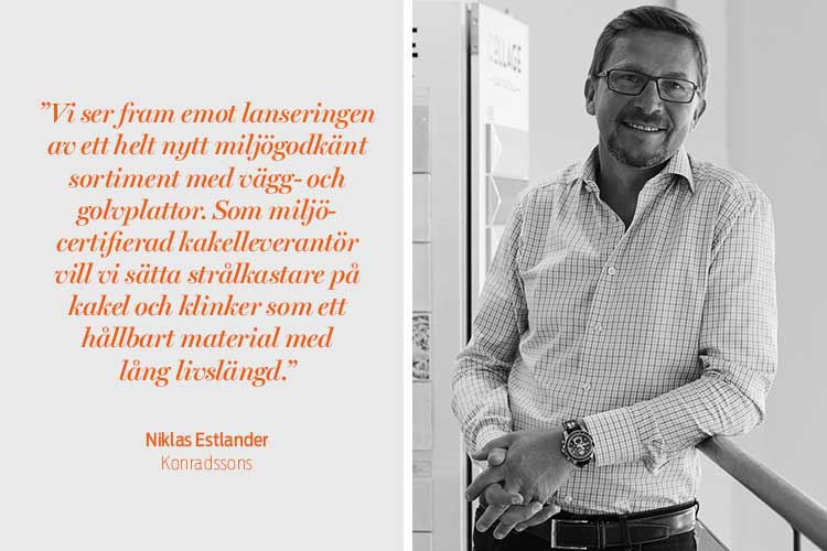 Niklas Estlander, Konradssons kakel
